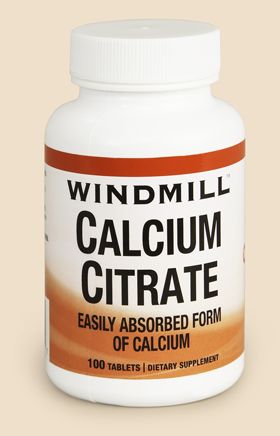 Windmill Calcium Citrate Bottle